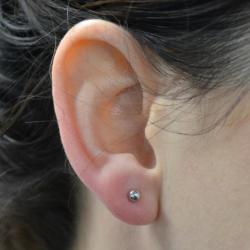Example of an acceptable earring